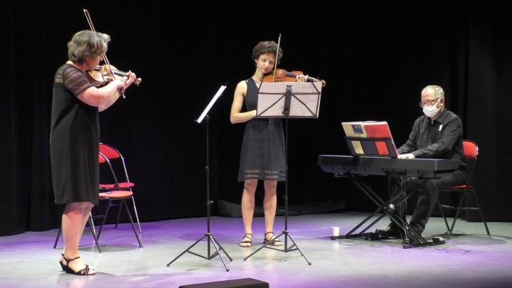 演奏巴哈BWV1043雙小提琴協奏曲