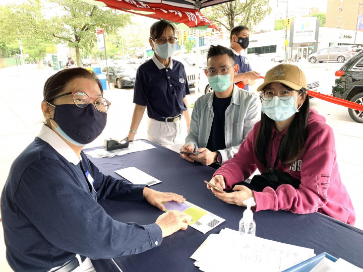 救助加州華裔檢察官 紐約響應骨髓捐贈登記活動