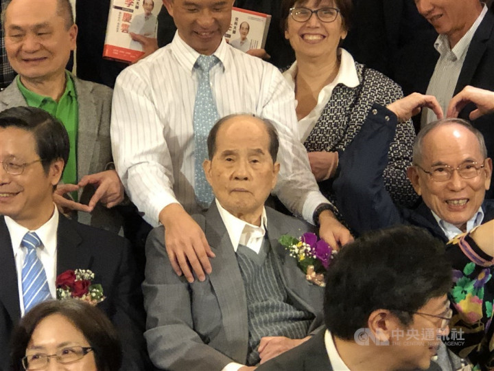 'Father of vaccines in Taiwan' Lee Chin-yun dies at 94