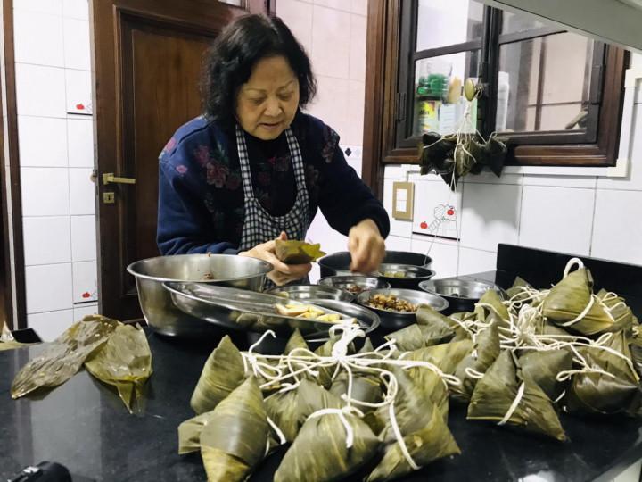 阿根廷華商經貿協會 端午粽香傳溫情