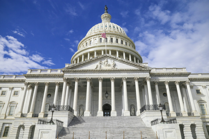 The U.S. Capitol building.(Picture from Unsplash)