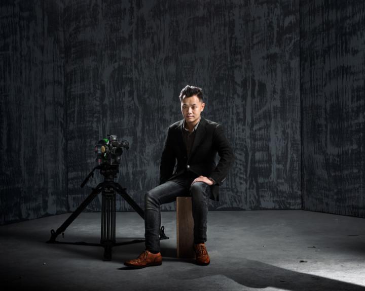 台灣導演林龍吟(圖)以首部劇情長片「蚵豐村」入圍 馬德里電影節競賽單元,也創下台灣電影首度入圍官方 競賽單元紀錄。 (文化部提供)