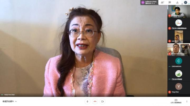 美國南加州洛杉磯著名家庭醫師陳筱芬,受邀與會主談疫苗相關介紹。