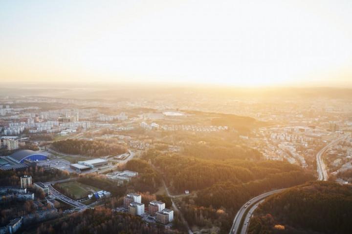 圖為立陶宛首都維爾紐斯。(圖取自Unsplash圖庫)