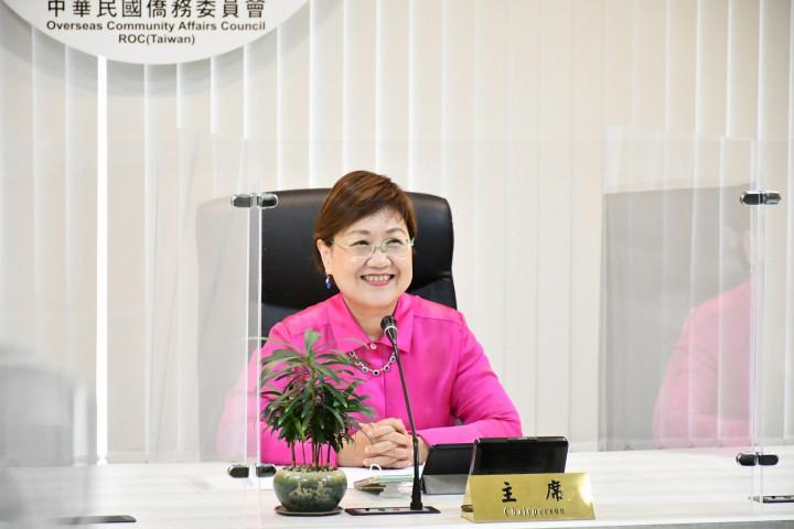 徐佳青和世華重要幹部辦線上視訊講座