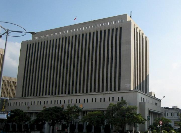 台灣中央銀行。(圖:維基百科)