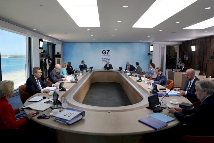 七大工業國家(G7)峰會英國舉行