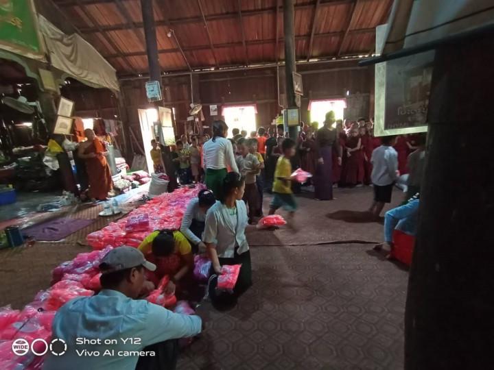 協助緬甸人民度過難關