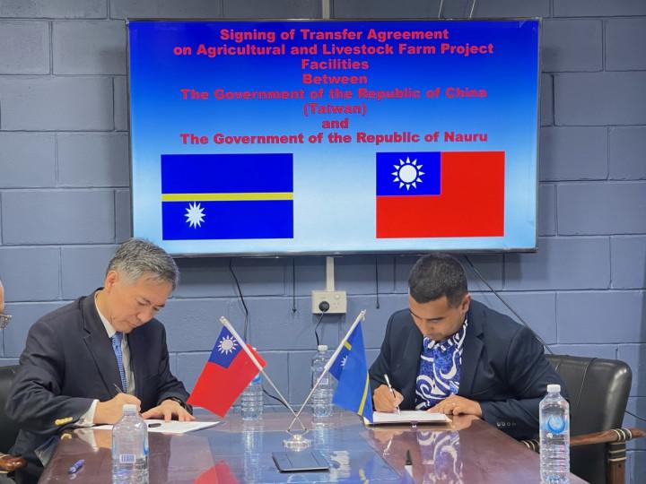 「臺諾監獄農畜場專案設備移交協議」完成簽署