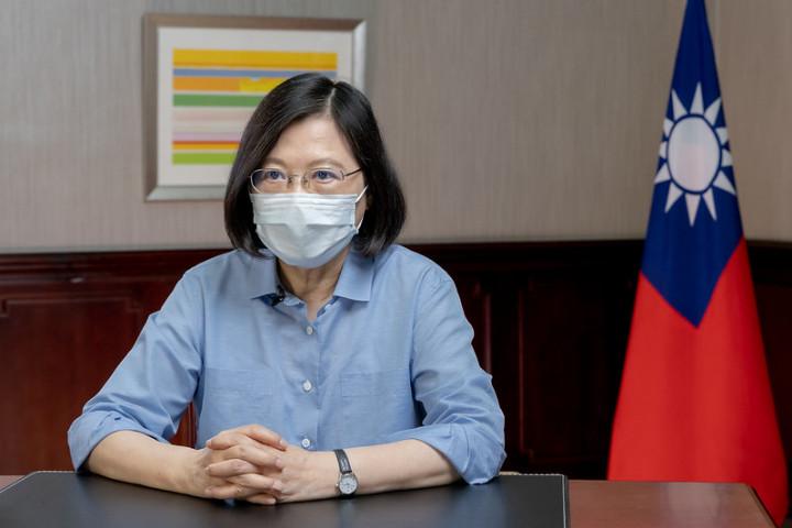 總統針對防疫工作發表談話
