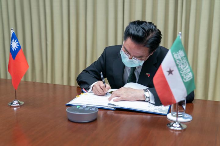 台與索馬利蘭簽醫療合作協定 將派團常駐索國