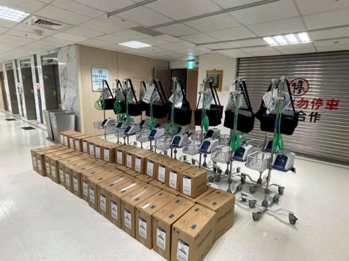 藝人賈永婕牽線企業募得252台HFNC,可增COVID-19存活率