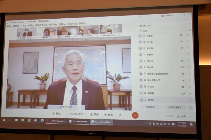 徐佩勇期許能與僑胞以及僑委會合作建立臺菲間的夥伴關係
