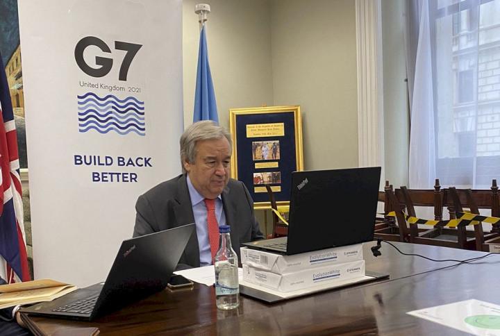 聯合國秘書長古特瑞斯(Antonio Guterres)。(圖:聯合國官網)