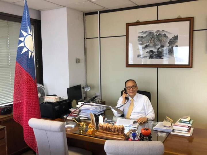 駐西班牙代表處劉大使接受「Dynamis Radio廣播電臺」專訪,呼籲國際社會支持臺灣參與聯合國體系