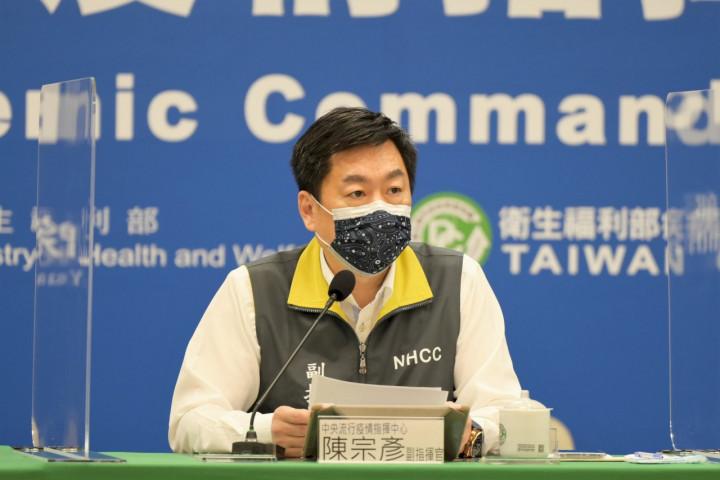 陳宗彥8日呼籲地方政府盡速落實傳統市場與大賣場人流管制。