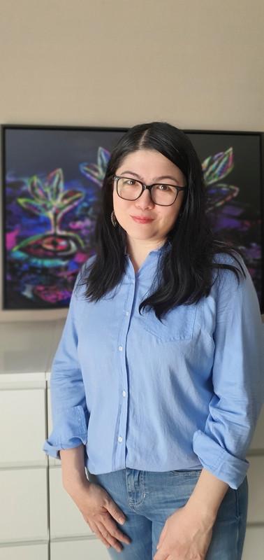 台灣—土耳其藝術家高安琪(圖)表示,作品受到土耳其父親、台灣母親的影響。她在土耳其、台灣、美國的成長體驗造就多元文化拼貼風格。(高安琪提供)