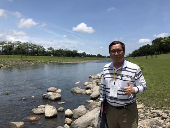 涓滴守護 韌性台灣 水利節表揚29位傑出貢獻人員-林連山