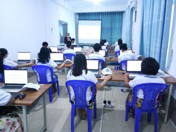發揮「臺灣數位機會中心」的功能,以協助該地區學生提升電腦知識與技能