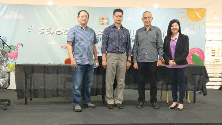 駐汶萊代表處代表李憲章 出席斯市中華總商會首屆季節性銷售展