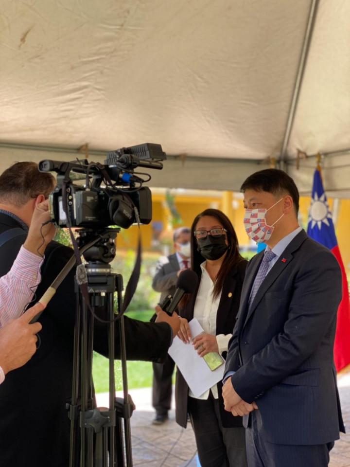 駐瓜地馬拉大使期盼與瓜國持續推廣華語教學