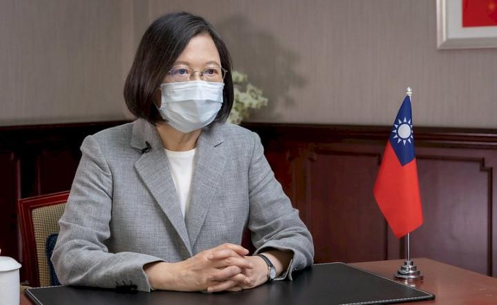 蔡總統談話遭錯誤呈現,駐泰處向泰媒澄清。(圖:總統府Flickr)