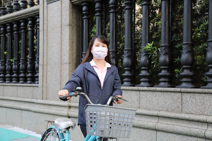 體育署黃幸玉專門委員邀請大家等疫情過後一起「騎亮台灣」