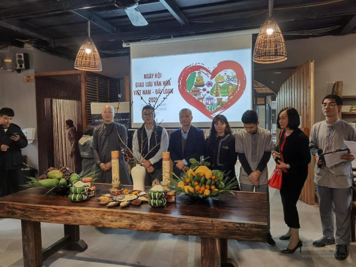臺北辦事處觀光局邀約代表臺灣茶與越南文化交流