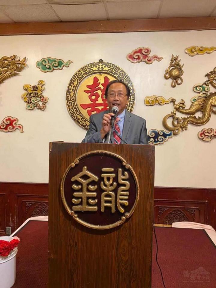 羅省中華會館廖李金生副主席致詞