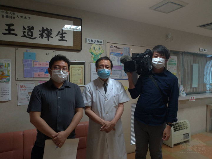 王輝生接受日本NHK節目專訪