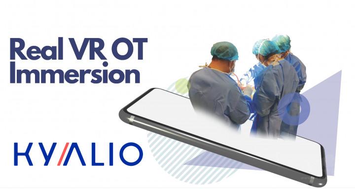 由Cortilia Lin創立的公司Kyalio是一間專門推廣結合虛擬實境與醫療教育的國際公司