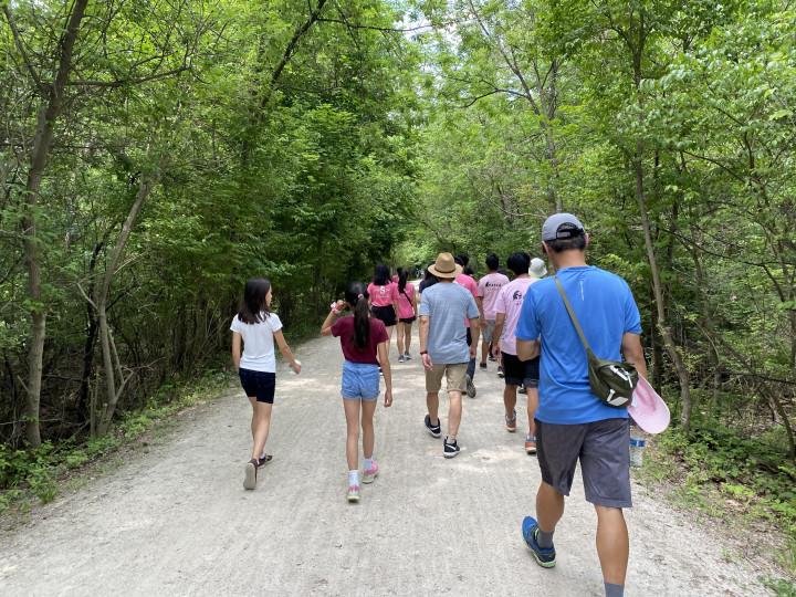 清靜優美的Paint Creek Trail令人心曠神怡