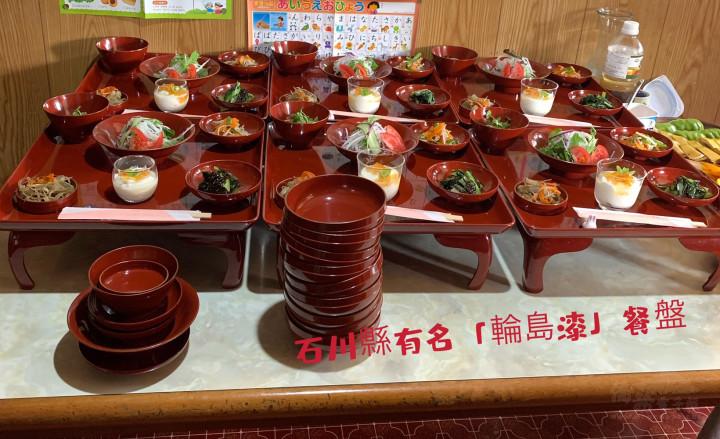 民宿準備豐盛餐點