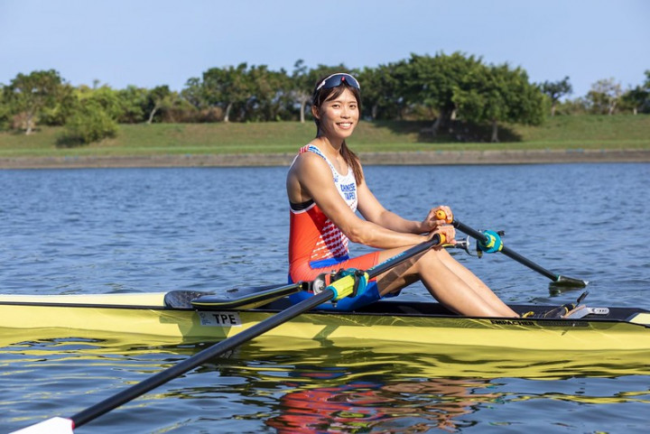 Taiwanese rower qualifies for quarterfinals at Tokyo Olympics