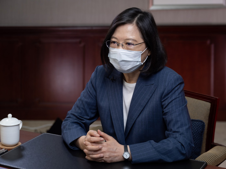 Picture from Taiwan Presidential Office's flickr.