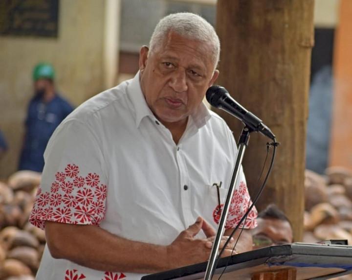 斐濟總理巴依尼馬拉馬(Frank Bainimarama)