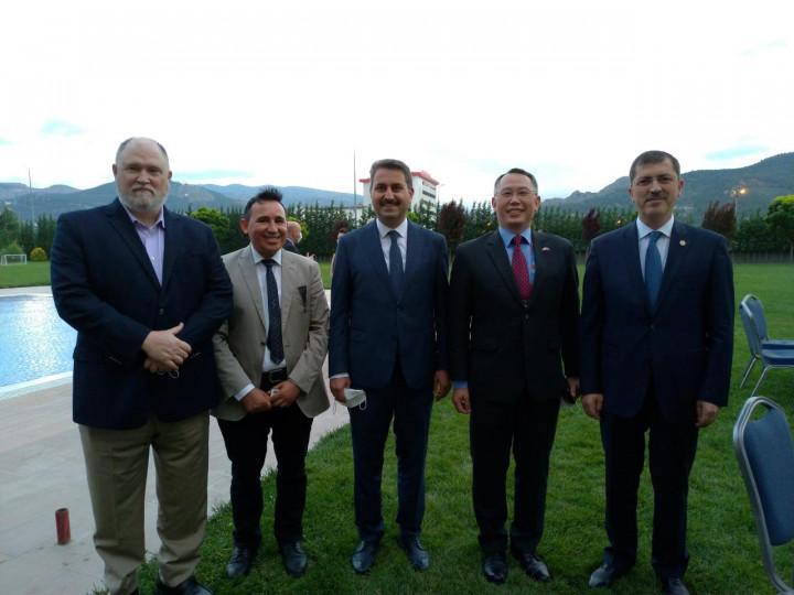 駐土耳其代表黃志揚 出席國際生態旅遊年會