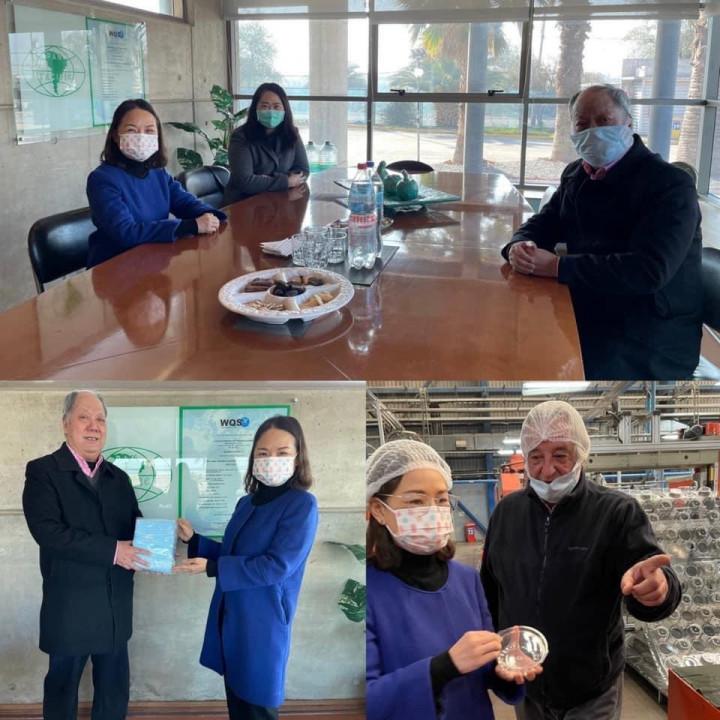 代表處訪視當地僑商