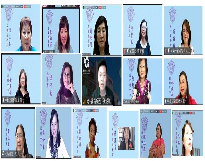 世界華人工商婦女企管協會邀請「饗賓餐旅集團」總經理陳毅航演講(圖正中)11