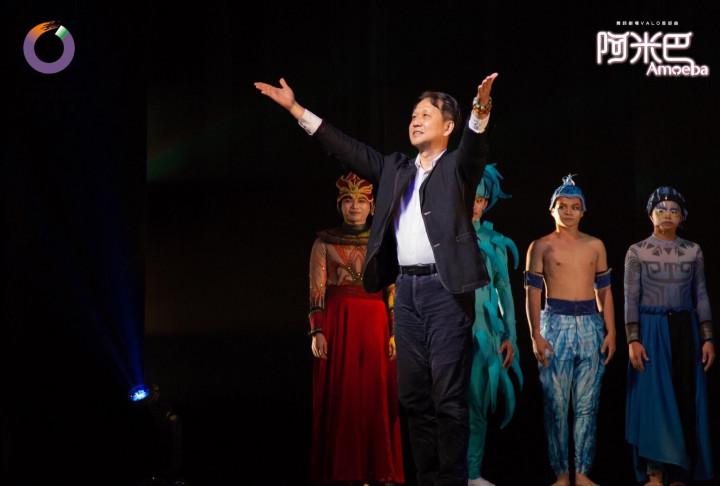 舞鈴劇場創辦人劉樂群,期盼將舞鈴劇場打造成媲美Disney的「臺灣舞臺音樂劇」。(舞鈴劇場提供)