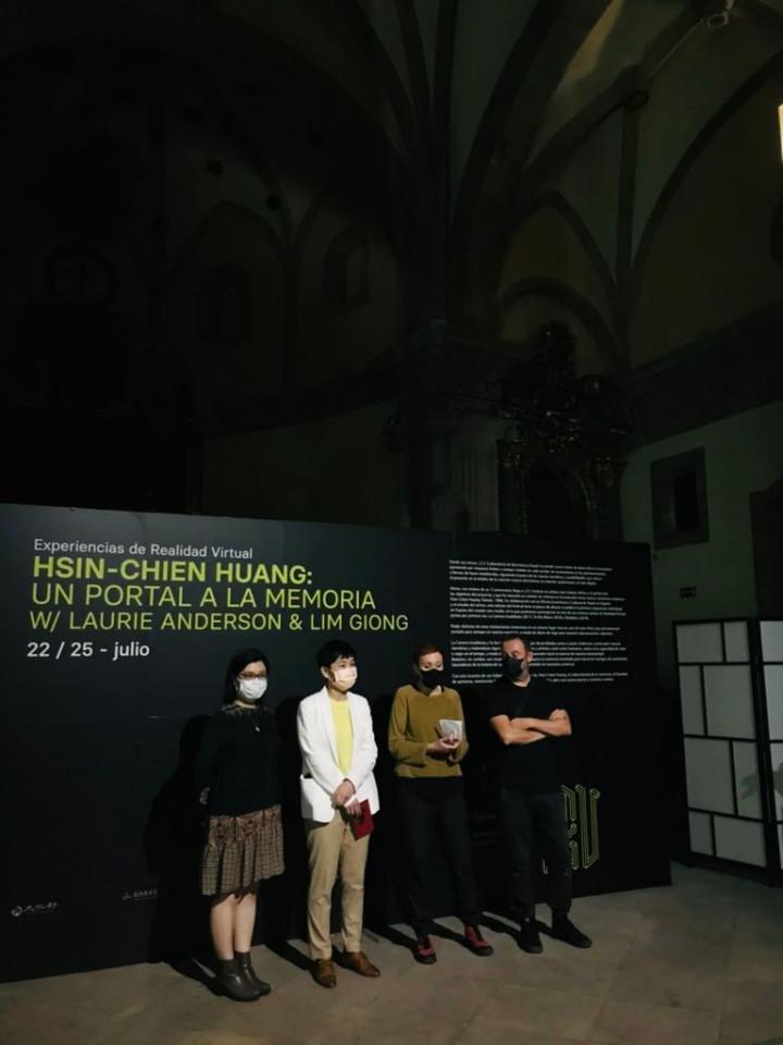 我國新媒體藝術家黃心健首度於歐洲舉辦個展,驚豔希洪市(Gijón)!