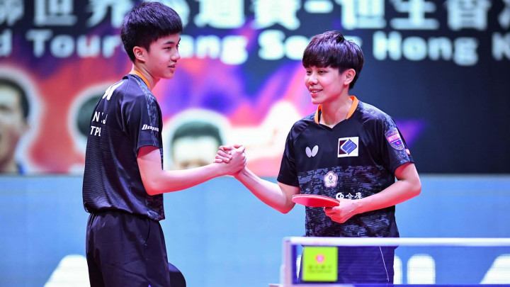 Taiwanese mixed doubles pair advance to table tennis quarterfinals