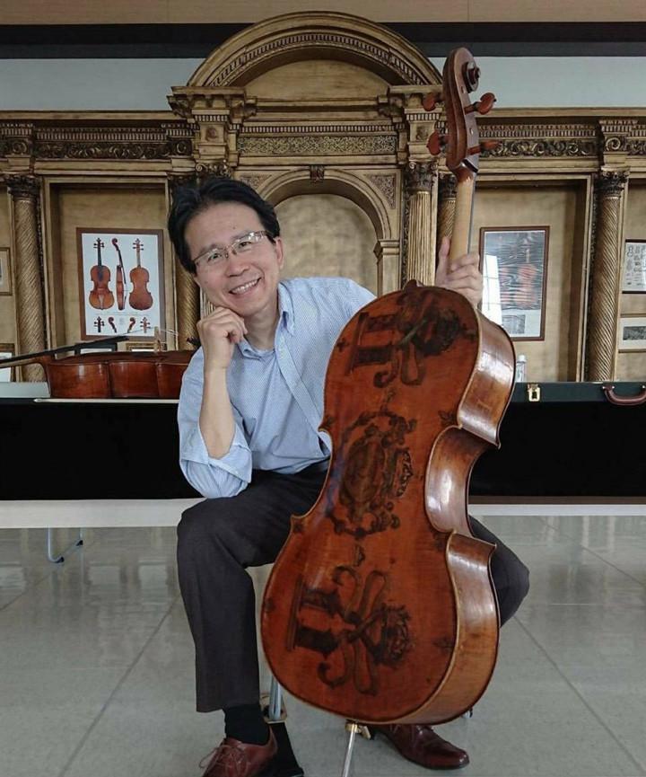 三船文彰說,透過日本致贈疫苗給台灣,讓他找到了音樂的意義