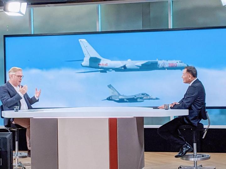 丹麥DR電視專訪李大使