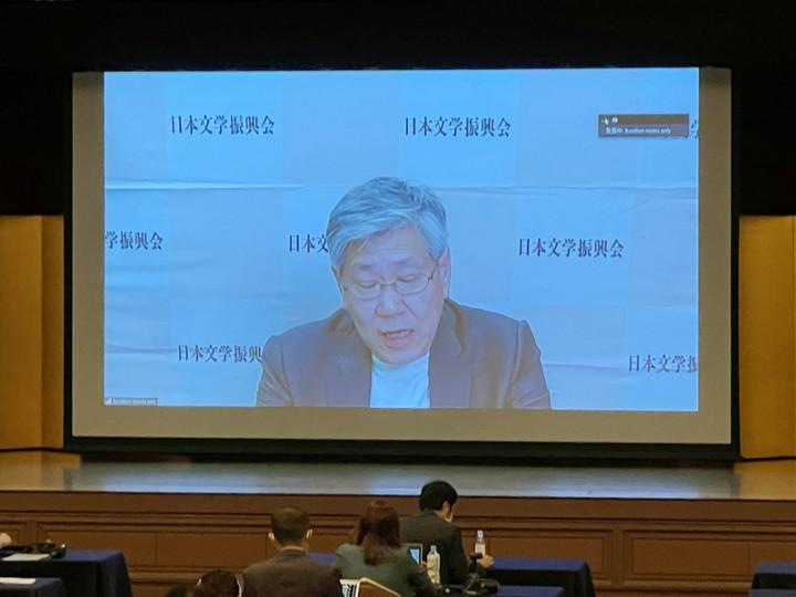 李琴峰獲日本文學界最高榮譽芥川獎,是首位獲獎的台 灣人。圖為活動會場東京帝國飯店。