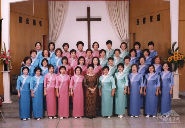 陳黃淑英與巴西中會婦女合唱團