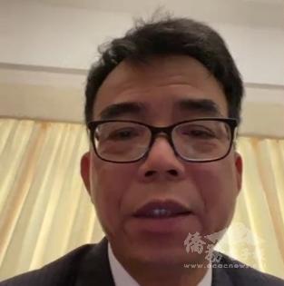 駐開普敦辦事處長林映佐表示會與僑胞緊密聯繫