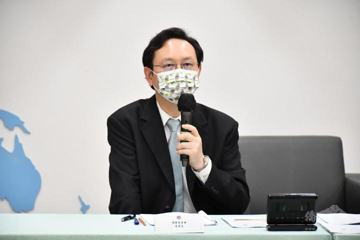 童振源表示將會持續連結臺灣和僑臺商,創造更大的商機和合作空間