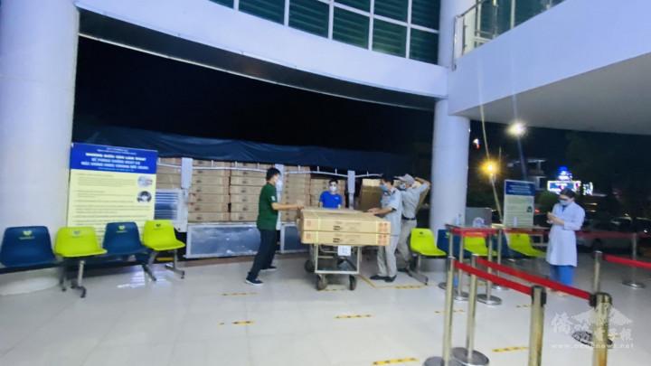 捐贈醫療床協助越南政府抗疫