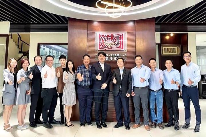 於和鼎隆建築公司舉辦越南上市和平建築集團企業交流會議